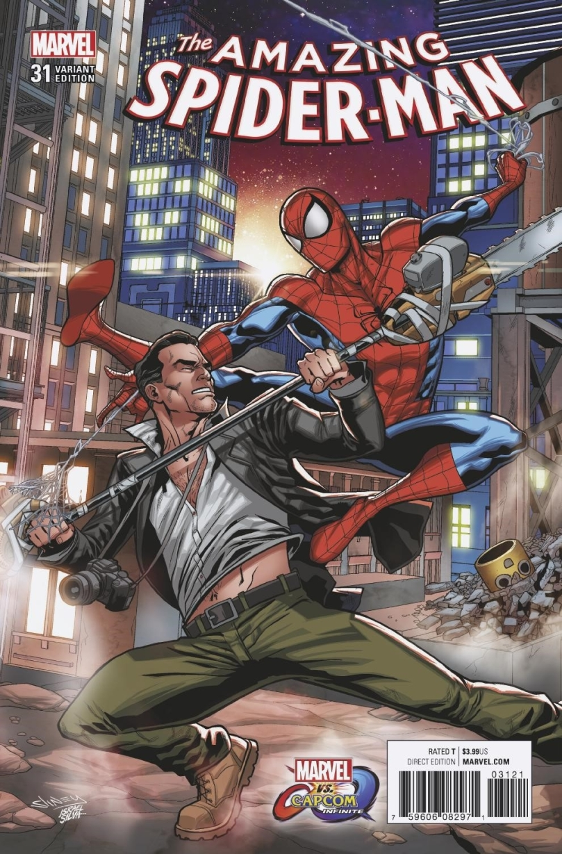 MVCI Variant Cover Amazing Spider-Man Frank West