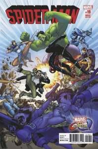 MVCI Variant Cover Spider-Man Hulk