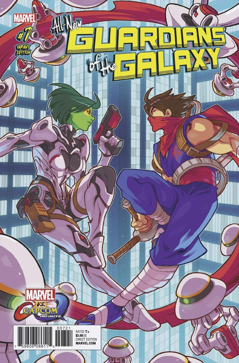 MVCI Variant Cover Guardians of The Galaxy Gamora Strider