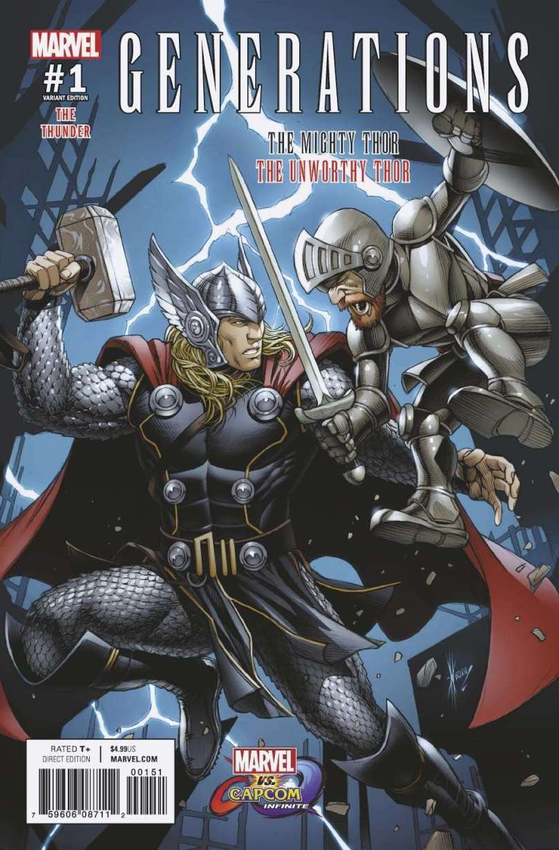 MVCI Variant Cover Generations Thor