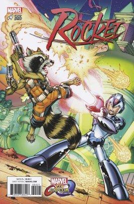 MVCI Variant Cover Rocket Mega Man X