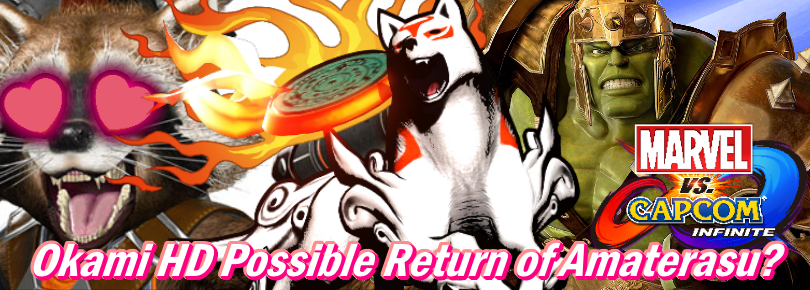 "Ōkami HD Remaster for PS4/XBONE Could ""Interest"" In Okami HD (2017) Bring Us Amaterasu for MVC:I? Previously Okami 2 Had Been Teased By Kamiya"