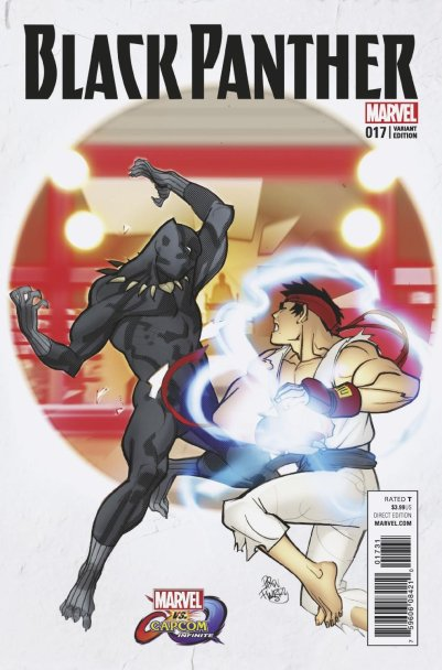 MVCI Variant Cover Black Panther Ryu