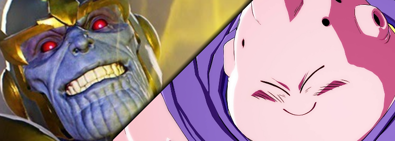 Buu vs Thanos MVCI DBFZ