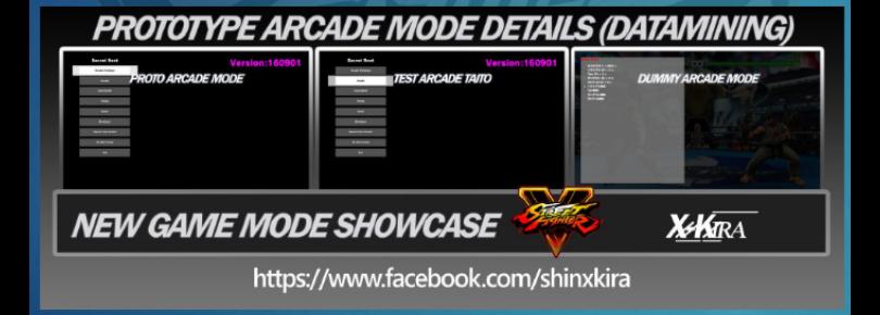 SFV Arcade Mode