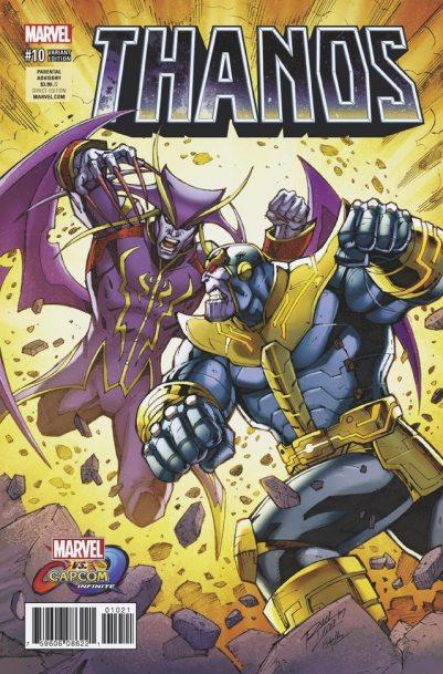 MVCI Variant Cover Thanos Jedah