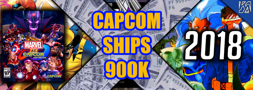 Capcom Successfully Ships 900,000 copies of Marvel vs Capcom: Infinite Will The Games Revenue Secure Future Support? | Capcoms Nintendo Switch Titles Perform Strongly As Well