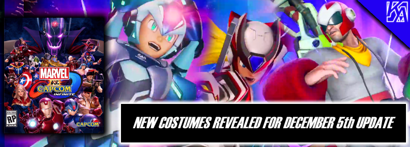 Second Wave of Marvel vs Capcom: Infinite Costumes Revealed! Strider Hien, Mega Man X Kai, Superior Spider-Man, and More!