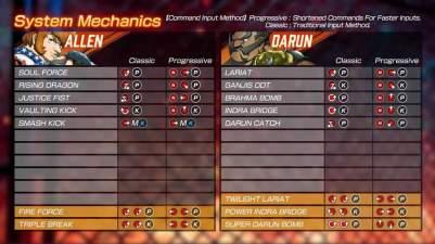 Fighting Ex Layer Command List Allen Darun