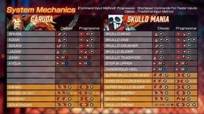 Fighting Ex Layer Command List Garuda Skullo Mania