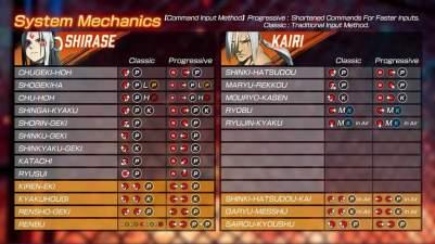 Fighting Ex Layer Command List Kairi Shirase